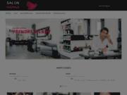 screenshot http://www.salonhanna.com salon hanna :  salon de coiffure à courbevoie