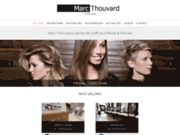 screenshot http://www.salonsthouvard.com marc thouvard - coiffure brest - siam et jaurès