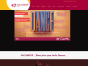 screenshot http://www.salsabor.fr Cours de salsa sur Paris