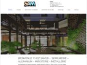 screenshot http://www.sam78.com sam 78 : serrurerie - aluminium - miroiterie