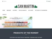 screenshot https://www.san-martin.fr Vinaigres