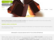 screenshot https://www.sandrinegairaud.com/ Designer produit
