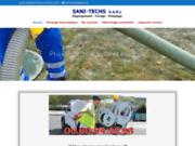 Sani Techs débouchage de canalisations en Ile-de-France