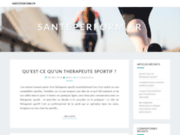 screenshot http://www.santeperform.fr santé perform, coaching, evénementiel sportif
