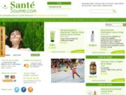 screenshot http://www.santesourire.com parapharmacie discount beauté santé