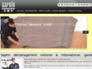 Garde meubles Yvelines-Saphir Déménagement