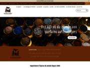 screenshot http://www.saravane.eu saravane - parfumeur d'esprit - accueil