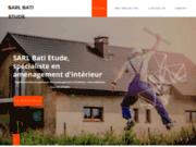 screenshot http://www.sarl-bati-etude.com bati etude basé à saint-maximin oise maitrise d'oeuvre