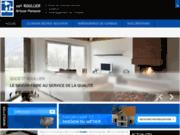 screenshot http://www.sarlroullier.com aménagement de combles, isolation
