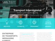 screenshot http://www.sarlteft.com Transports Express Fort Thubert