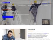 screenshot https://www.sas-loison.com/ entreprise du bâtiment en aménagement intérieur et isolation à Vineuil