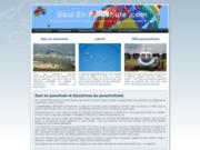 Saut en parachute, votre guide francophone  du parachutisme, parapente et parachute ascensionnel
