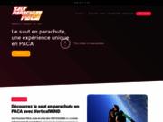 screenshot http://www.sautparachutepaca.fr Saut Parachute PACA