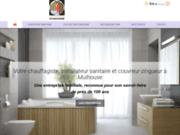 Chauffagiste, installateur sanitaire et couvreur-zingueur à Mulhouse