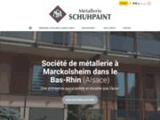 Métallerie Schuhpaint, créateur de structure en métal Marckolsheim dans le Bas-Rhin, en Alsace