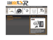 screenshot http://www.scootr.fr/ scoot'r accessoire tuning specialiste valenciennes