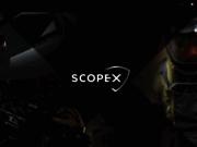 screenshot http://www.scopex.fr scopex : équipements tactiques blackpearl.