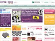 Scrap&Book - Boutique en ligne de scrapbooking et de loisirs créatifs