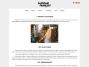 screenshot http://www.sculpteur-dufour.com sculpteur dufour: sculpture bois, terre cuite, bronze