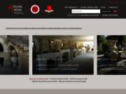 screenshot http://www.sculptures-bidal.com atelier ae bidal taille de pierre - matériaux anciens