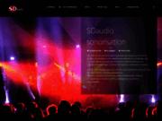screenshot http://www.sdaudio.fr/ SDAUDIO