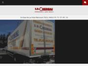 screenshot http://www.sdchesneau.fr/ entreprise de déménagement et garde meubles à paris, 75
