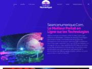 screenshot http://www.seancenumerique.com séance numérique