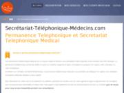 screenshot http://www.secretariat-telephonique-medecins.com/ Secrétariat Téléphonique Médical
