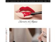 screenshot http://www.secretsdagnes.fr secrets d'agnès esthétique à domicile