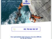 screenshot http://www.securibat.fr/ securibat:spécialiste travaux accrobatiques