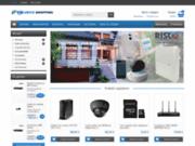 screenshot http://www.securite-shopping.com boutique d'articles de sécurité