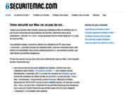 screenshot http://www.securitemac.com Sécurité sous Mac OS X