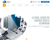 screenshot http://www.seim76.fr société exploitation industrielles multiples seim