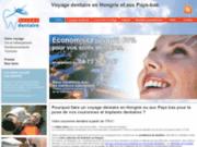 screenshot http://www.sejourdentaire.fr Dentiste en Hongrie