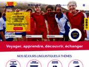 screenshot http://www.sejourlinguistiquejeune.fr Sejour linguistique pour jeunes et ados - Sejours Agency Jeunes