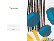 screenshot http://www.selescope.com emploi cadre et commercial