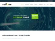 screenshot http://selfone.fr/ Téléphonie IP et VoIP