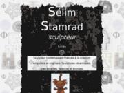 screenshot http://selim.stamrad.free.fr/ selim stamrad  sculpteur