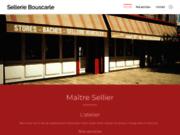 screenshot http://www.sellerie-bouscarle.fr bouscarle : sellerie auto  toile pergola