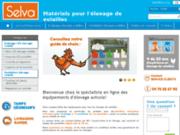 screenshot http://www.selva-online.fr équipement pour poulailler