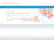 screenshot http://www.seniorbains.com/ bain et douche pour séniors : senior bains