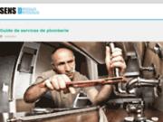 screenshot http://www.sens-dessus-dessous.fr/ chef de cuisine à domicile, vous n'y avez pas pensé?