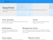 SequiTimer - minuteur de multi-intervalle séquentiel avancé pour Android