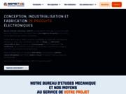 screenshot http://www.seretec.com/ SERETEC-Conception,Industrialisation et Certification de produits