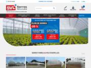 screenshot http://www.serresvaldeloire.com serre de jardin professionnel