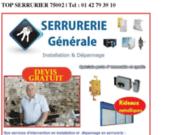 Serrurier 75002