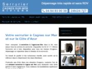 Société de serrurier à Cagnes sur Mer