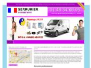 screenshot http://www.serrurier-courbevoie.fr/ serrurier courbevoie
