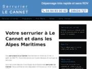 Site Internet de l'entreprise serrurier le Cannet