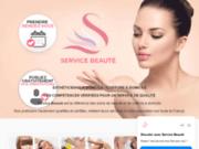 screenshot https://servicebeaute.fr Service Beauté